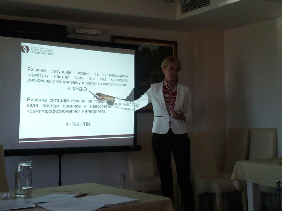 Planovi integriteta u institucijama sistema socijalne politike sa nadležnostima u slučajevima trgovine ljudima i u slučajevima partnerskog ili porodičnog nasilja