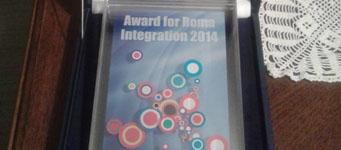 Priznanje EU za doprinos u procesu integracije Roma 2014. u Srbiji